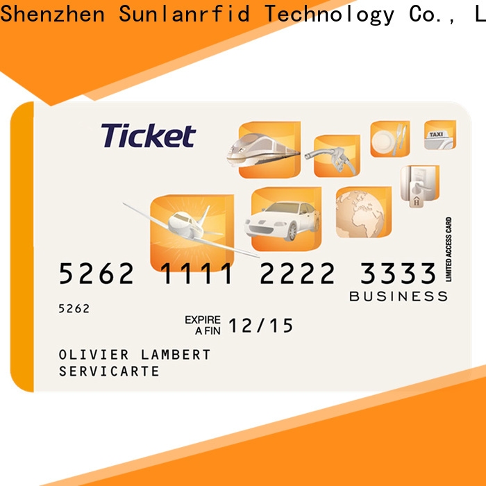 Sunlanrfid online ticket restaurant meal card login series for access control
