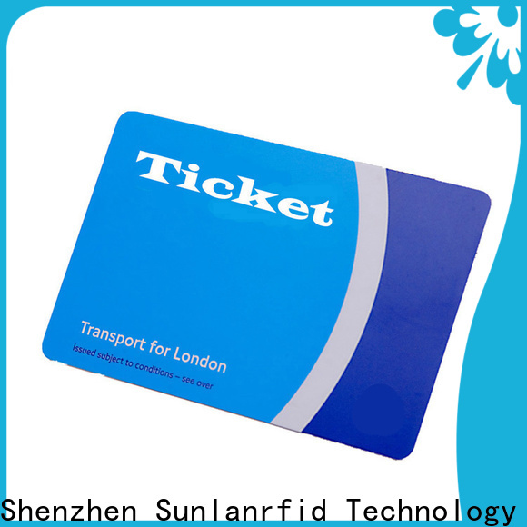 Sunlanrfid Wholesale travel bus tickets manufacturer for access control