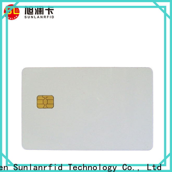 Sunlanrfid contact icc credit card status company for transportation