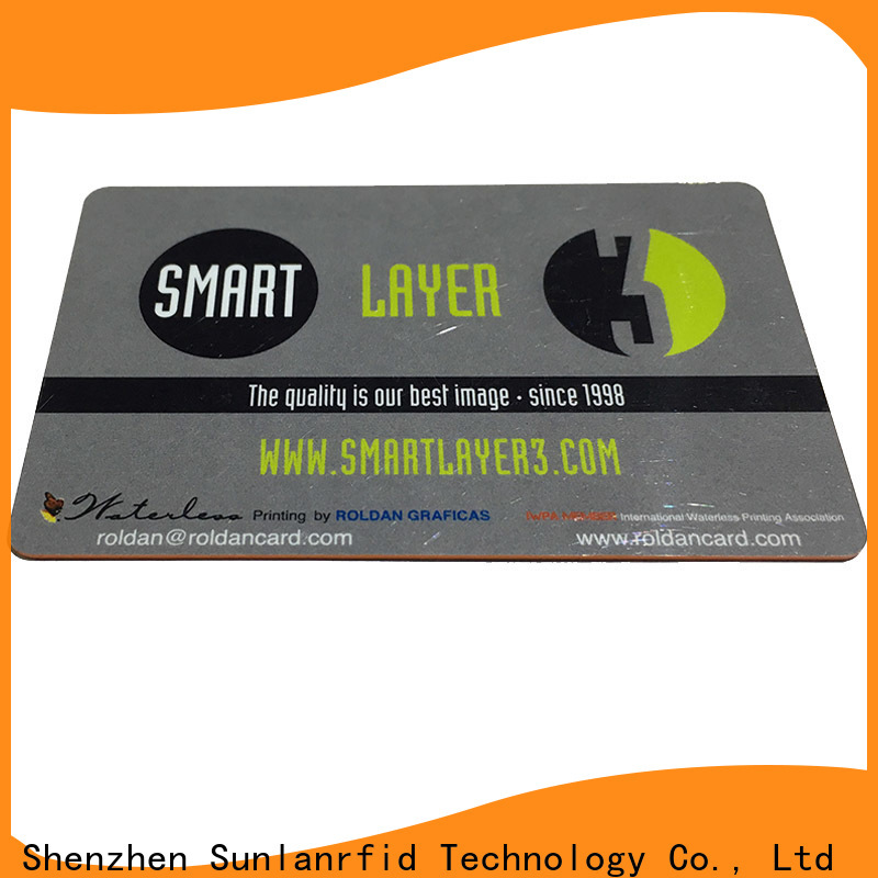 Sunlanrfid Custom proximity card labels factory for shopping Center