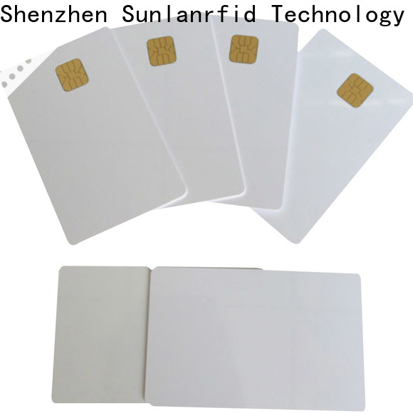 Sunlanrfid contact plastic card chip Suppliers for shopping Center