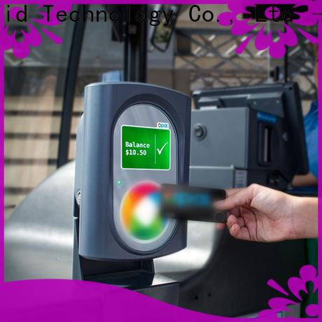 Sunlanrfid ultralight bus pass card transportation for subway