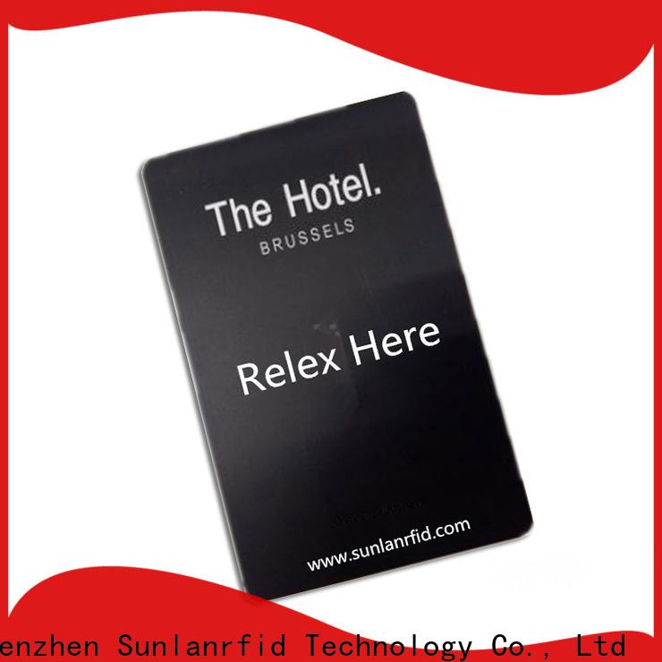 Sunlanrfid custom id card hotel series for hotel