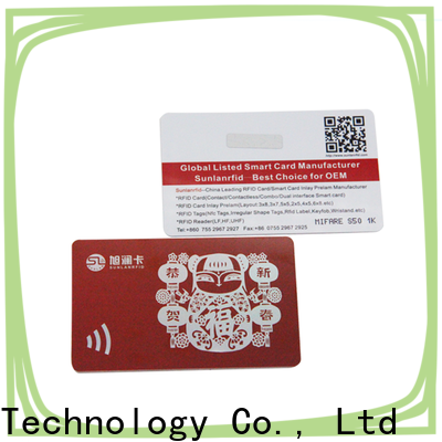 Sunlanrfid chip loyalty incentive programs supplier for daily life