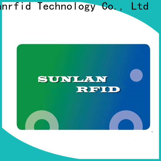 Sunlanrfid smart get prepaid card online production for transportation