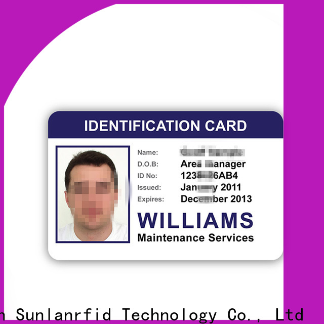 High-quality color id card printer student Supply for parking