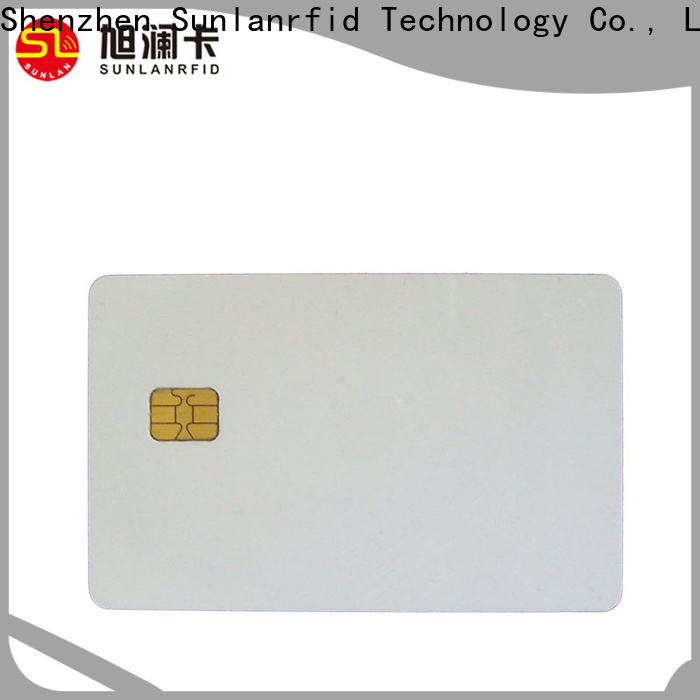 Sunlanrfid chip contactless ic card series for shopping Center