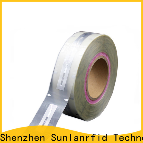 Sunlanrfid High-quality inlay tag series for transparent