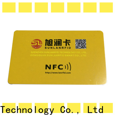 Sunlanrfid price nfc chips cost wholesale for shopping Center