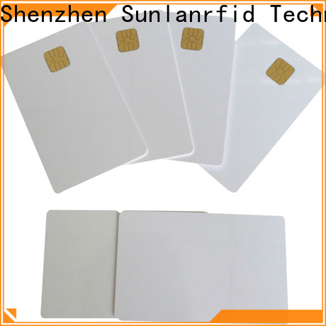 Sunlanrfid Custom smart id card Supply for time and attendance
