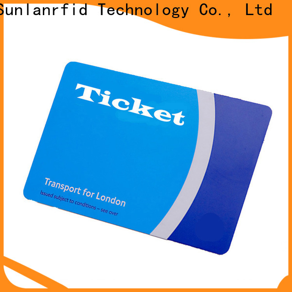 Sunlanrfid Wholesale metro bus green card for business for bus