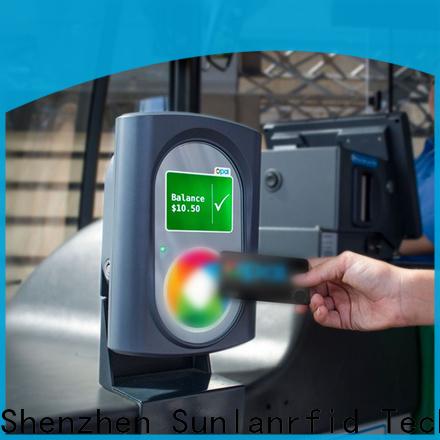 Sunlanrfid Custom metro transit card factory for subway