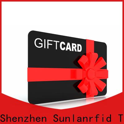 Sunlanrfid ultralight loyalty cards uk list manufacturers for transportation