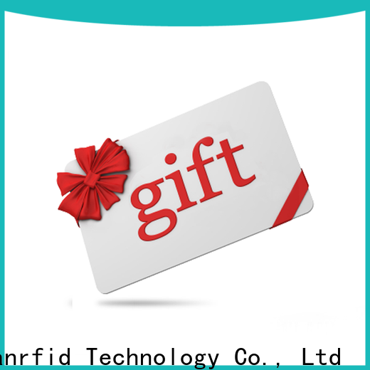 Sunlanrfid gift simple loyalty program card for time and attendance