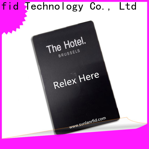 Sunlanrfid custom hotel door card entry systems production for daily life