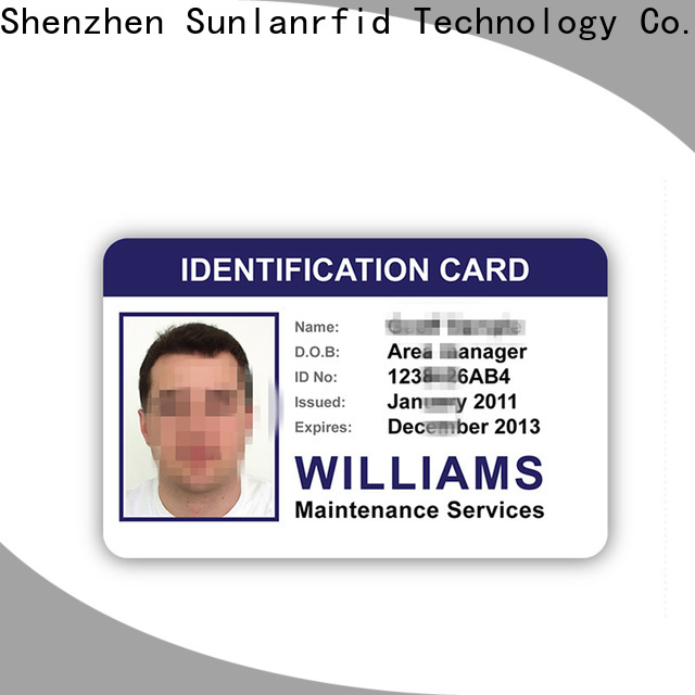 Sunlanrfid sli i need an id card for business for access control