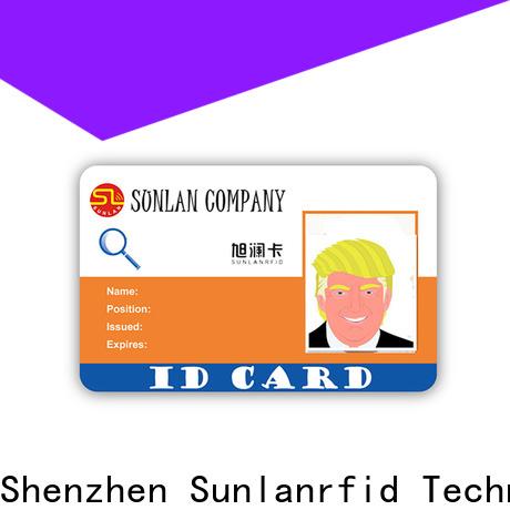 Custom id card brasil em4450 supplier for shopping Center