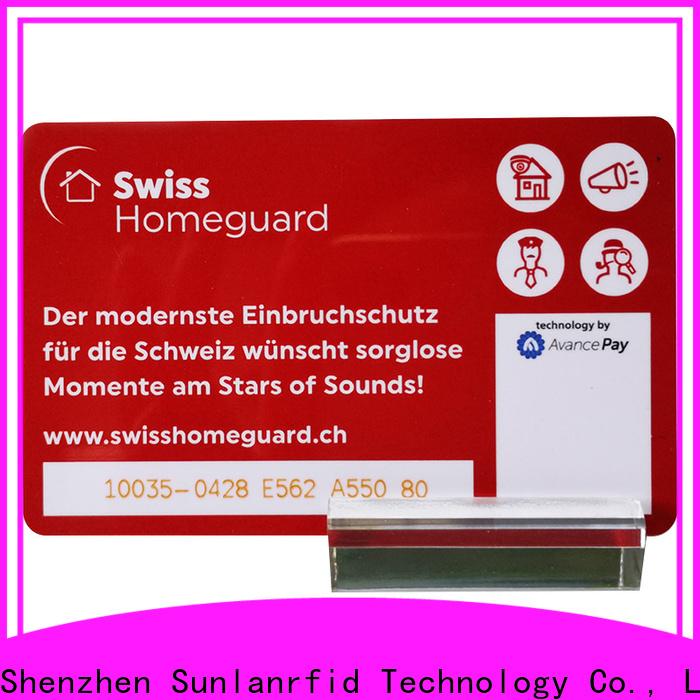 Sunlanrfid prepaid order prepaid cards online Supply for transportation