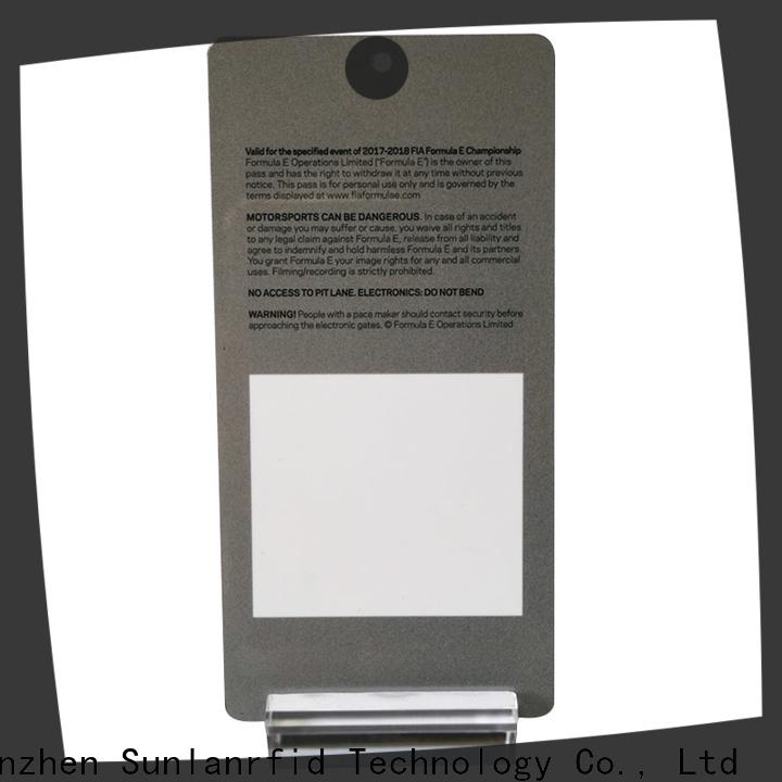 Sunlanrfid badges badge card for business for parking