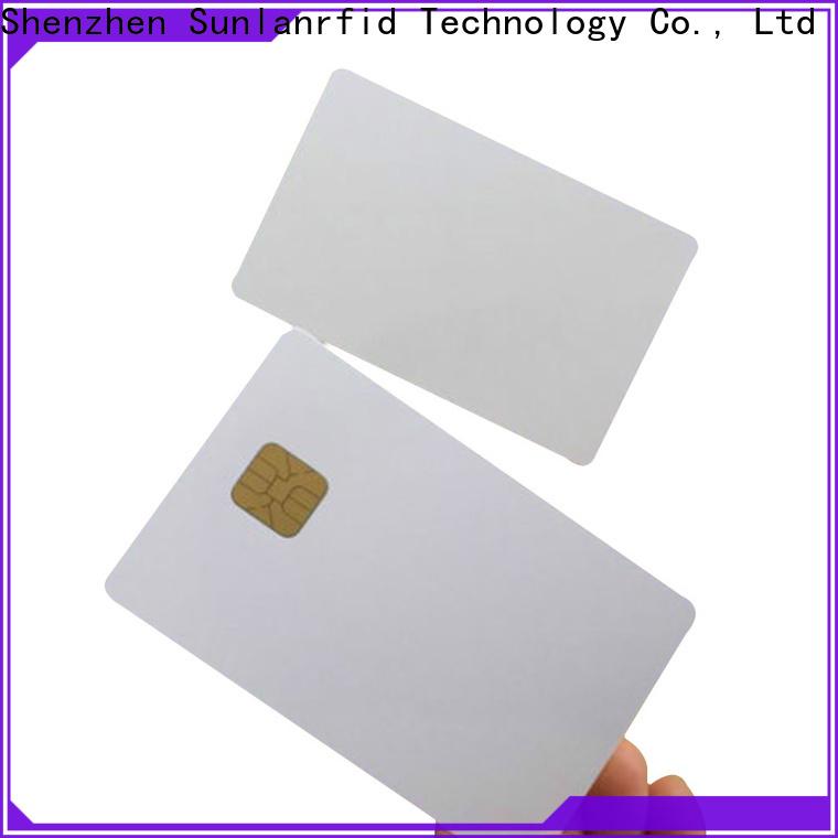 Sunlanrfid card sc smart card manufacturer for shopping Center