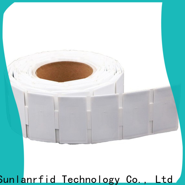 Sunlanrfid uhf custom engraved aluminum tags price for access control