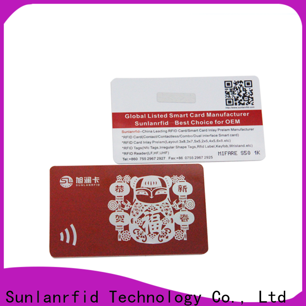 Sunlanrfid how do loyalty cards work Suppliers for parking