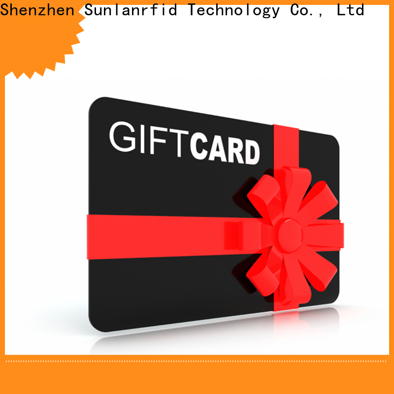 Sunlanrfid High-quality customer loyalty cards for small business wholesale for transportation