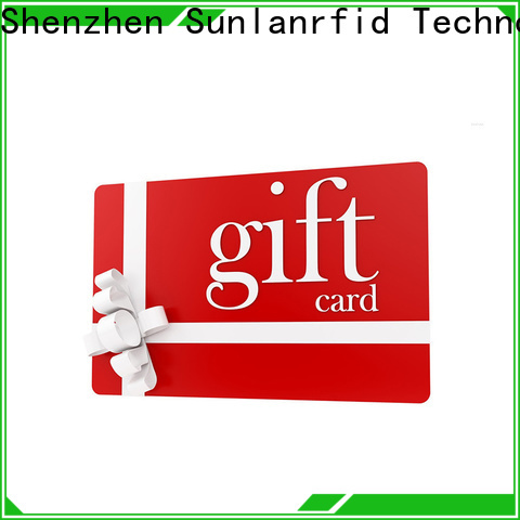 Sunlanrfid icode loyalty card punch series for parking