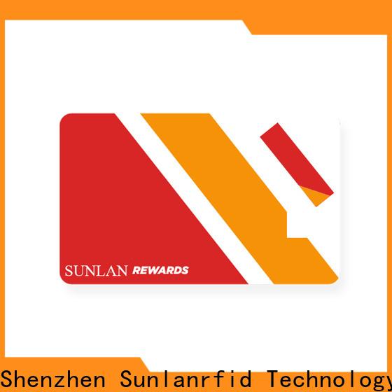 Sunlanrfid parkingcard supplier for shopping Center