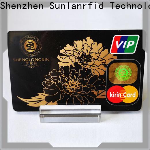 Sunlanrfid prepaid prepaid telefonkarte supplier for transportation