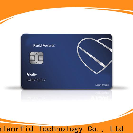 Sunlanrfid desfire prepaid cc online manufacturer for transportation
