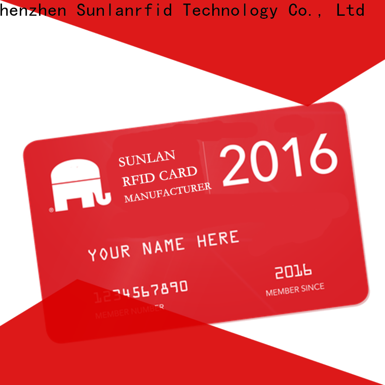 Sunlanrfid desfire load prepaid card with debit card wholesale for transportation