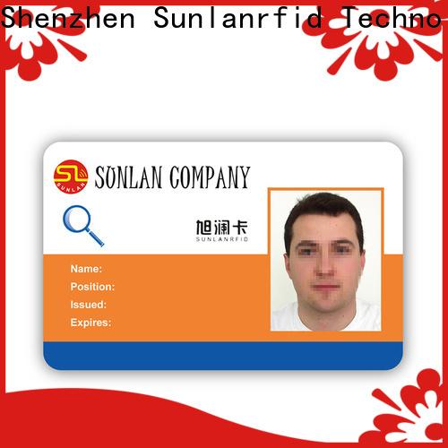 Sunlanrfid world identity card factory for shopping Center