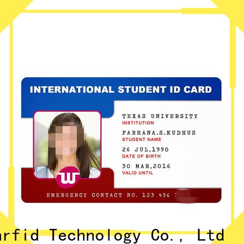 Sunlanrfid card id card material series for transportation