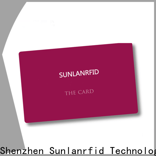 Sunlanrfid Best validate id card supplier for transportation