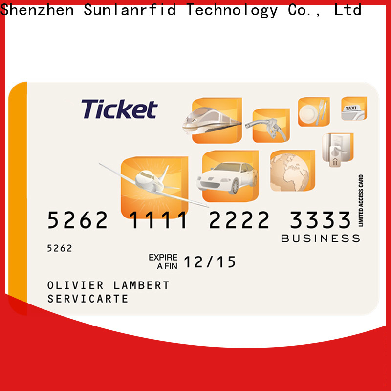 Sunlanrfid thin mticket app Suppliers for parking