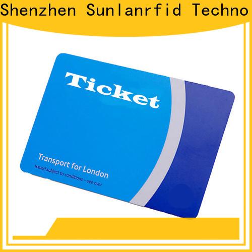 Sunlanrfid pet ticket car estaciones de servicio argentina manufacturer for time and attendance