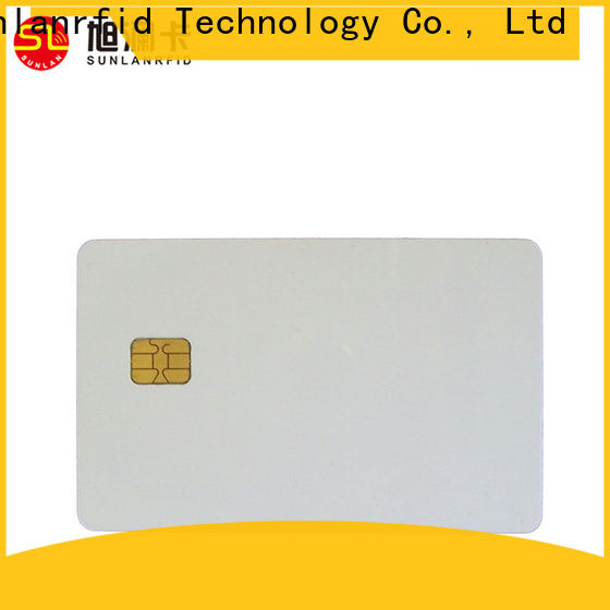 Sunlanrfid contact history of smart cards company for shopping Center