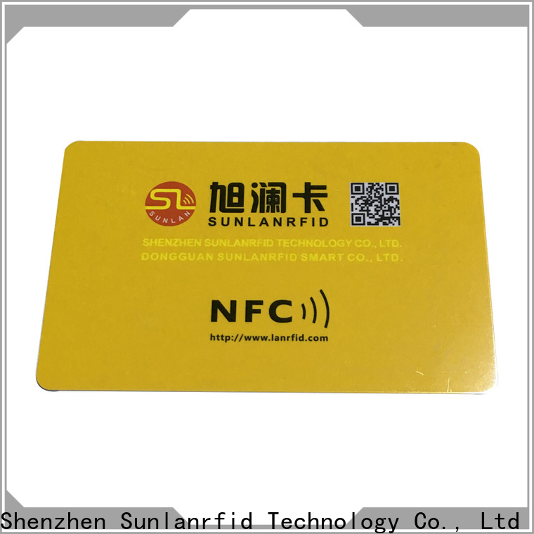 Sunlanrfid durable best nfc tag app manufacturer for shopping Center