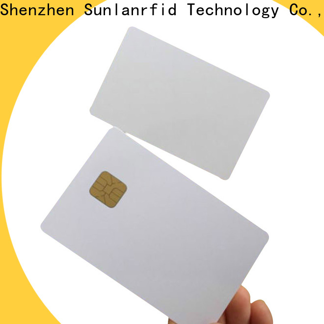 Sunlanrfid contact advantages of smart card Supply for transportation