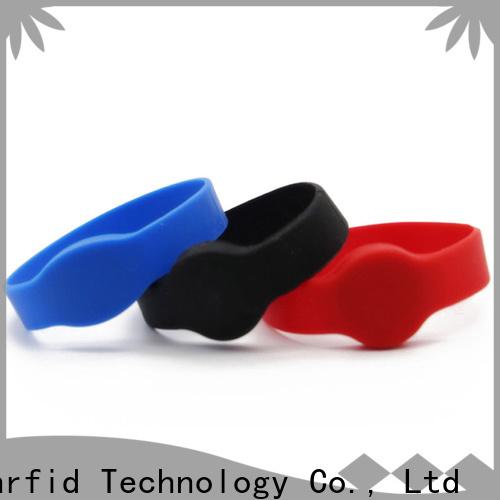Sunlanrfid wristband passive rfid factory for smart advertisement