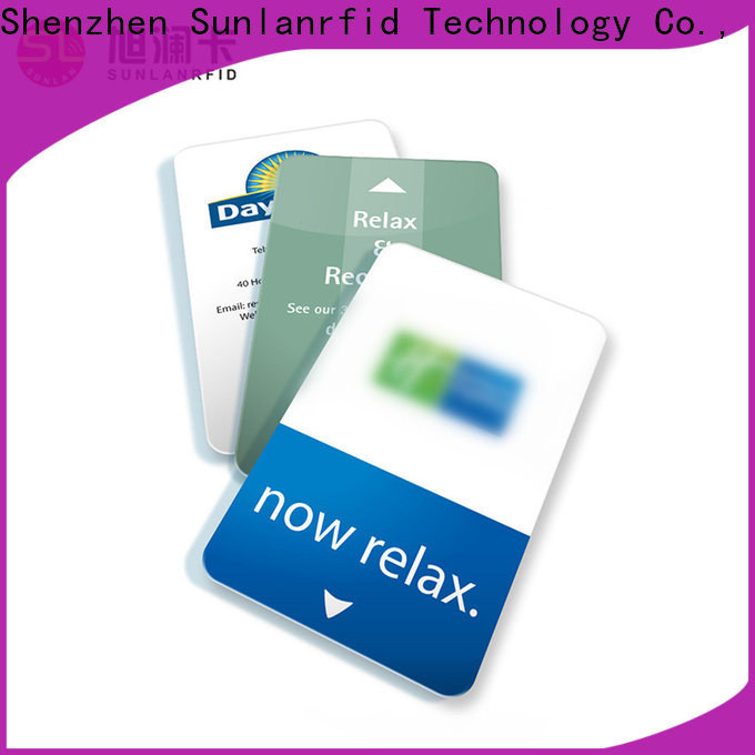 Sunlanrfid High-quality key card insert supplier for opening door