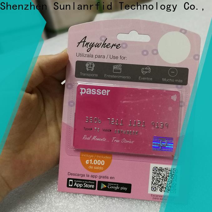 Sunlanrfid transportation subway card login transportation for shopping center