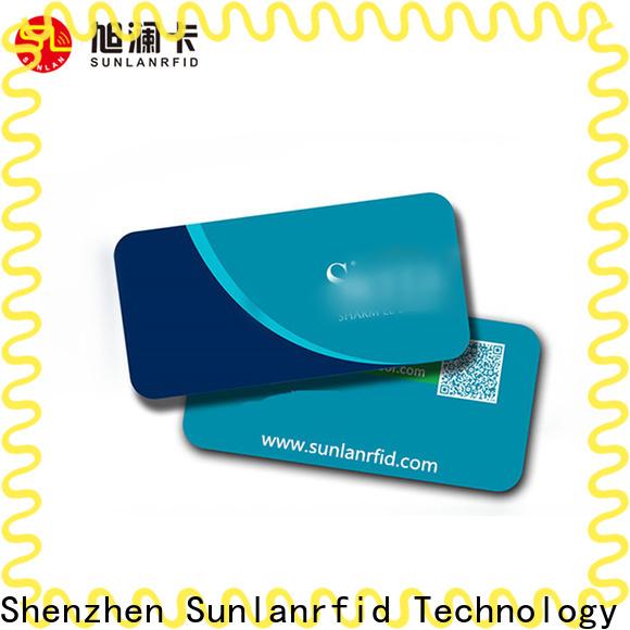 Sunlanrfid key rfid hotel key cards Supply for hotel