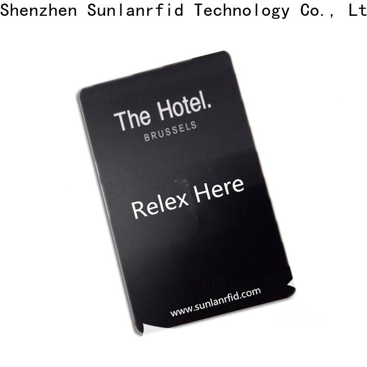Sunlanrfid Custom rfid card hotel lock wholesale for daily life