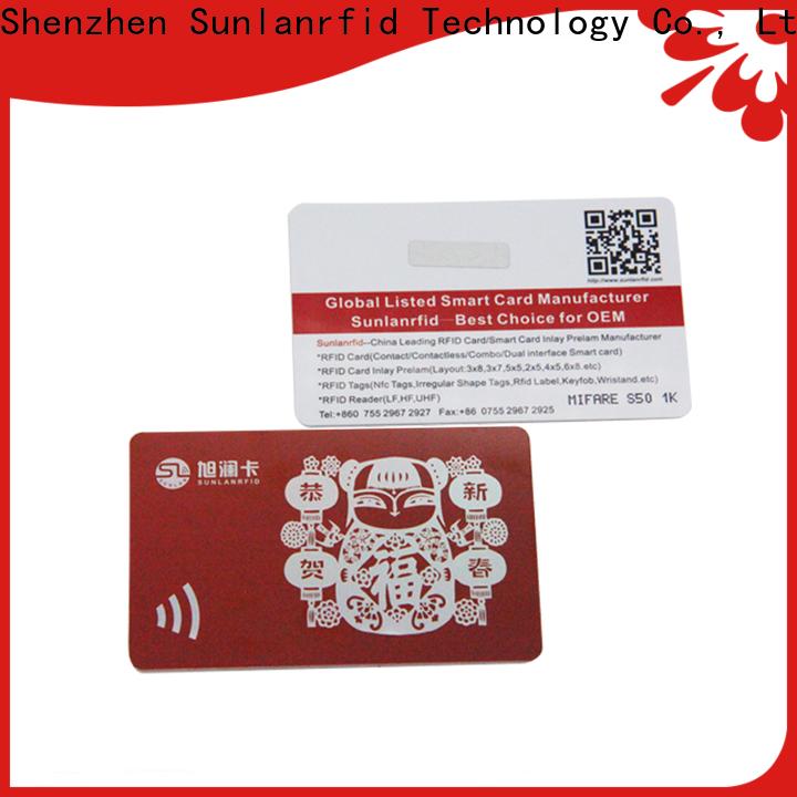Sunlanrfid slil loyalty program design manufacturers for access control