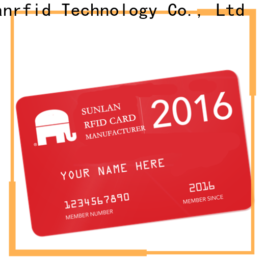 Sunlanrfid smart buy prepaid card wholesale for parking