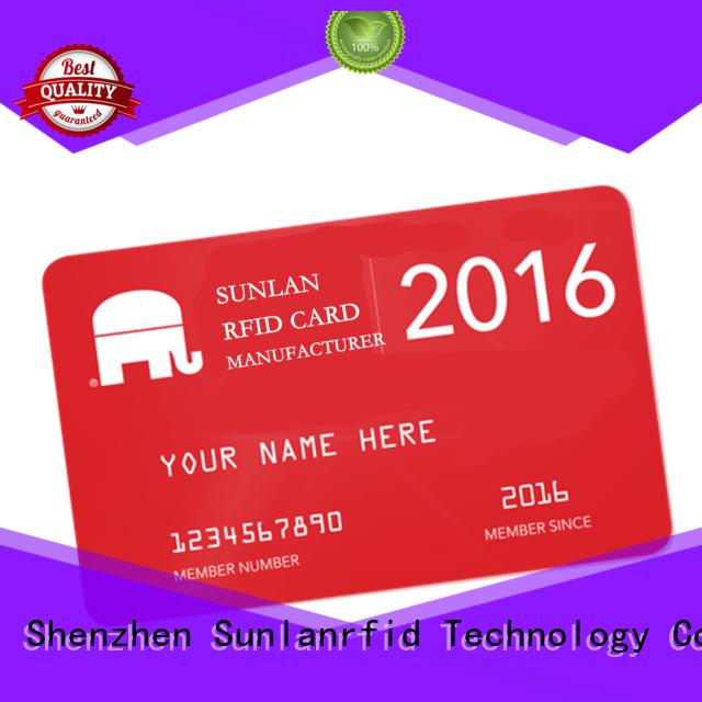 Wholesale card prepaid scratch card smart Sunlanrfid Brand