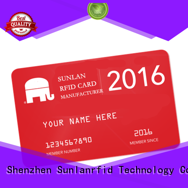 Wholesale card prepaid scratch card smart Sunlanrfid Brand