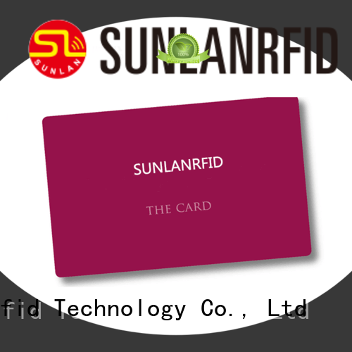 Sunlanrfid quality free id card template supplier for transportation